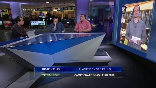Comentaristas analisam confronto entre Flamengo e São Paulo pelo Brasileirão