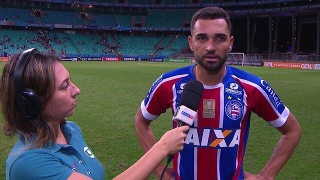 Gilberto comenta vitória do Bahia sobre o Vitória e confusão com torcedores em aeroporto