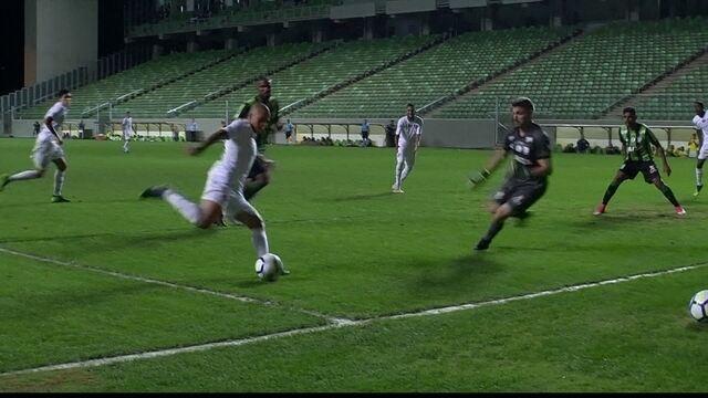 Melhores momentos: América-MG 0 x 0 Fluminense pela 19ª rodada do Brasileirão