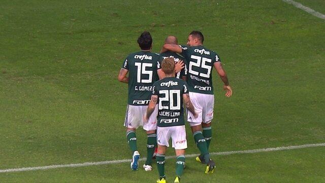 Os gols de Bahia 1 x 1 Palmeiras pela 25ª rodada do Brasileirão
