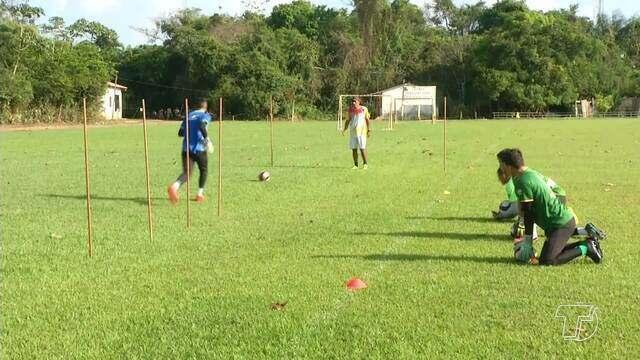 Tapajós foca em treinos para estreia na segunda divisão do campeonato paraense