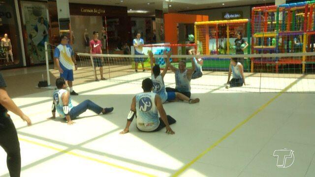 Atletas paralímpicos de Santarém participam de torneio e mostram habilidades esportivas