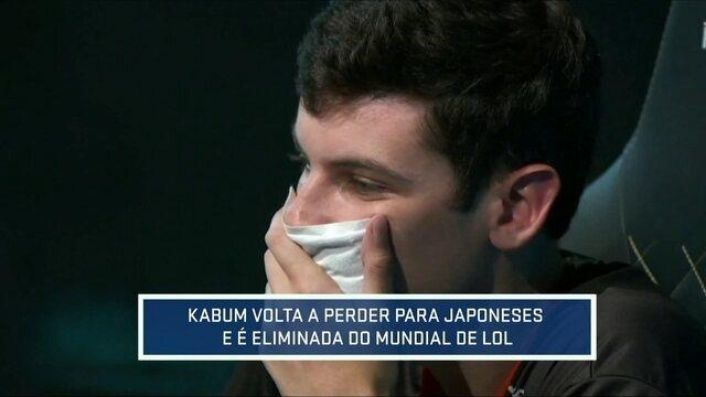 Kabum perde para japoneses e está fora do Mundial de League of Legends