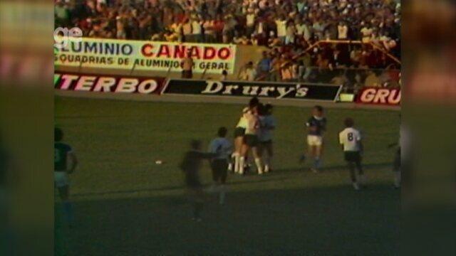 Em 1978, Corinthians venceu o São Bento no segundo jogo do estádio Walter Ribeiro