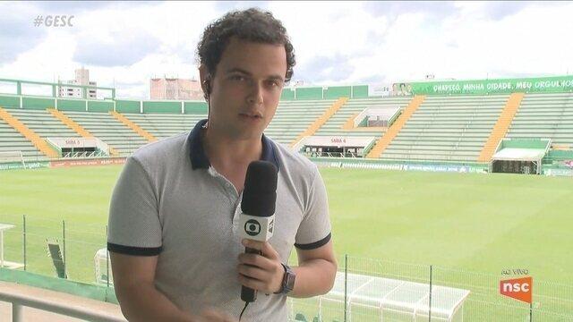 Após demissão, Chape busca substituto de Guto Ferreira