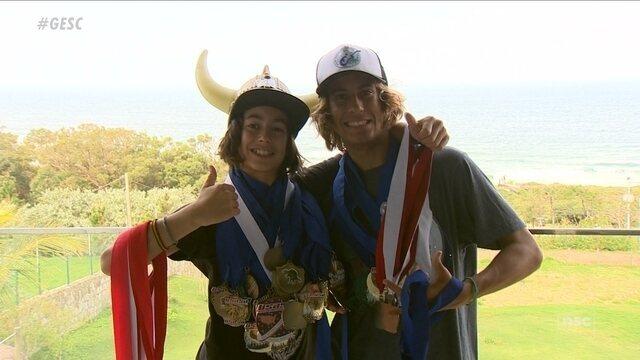 Destaques no snowboard, irmãos de Florianópolis podem representar o Brasil em olimpíada
