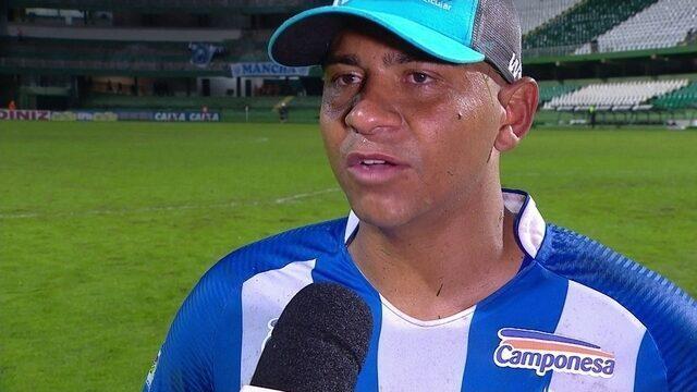 """Walter analisa partida contra o Coritiba: """"Um ponto muito importante"""""""