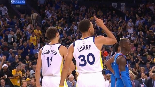 Melhores momentos: Golden State Warriors 108 x 100 Oklahoma City Thunder pela NBA