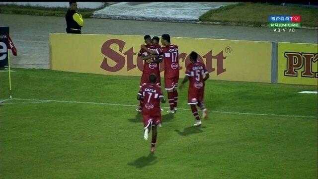 Veja os gols da vitória do CRB sobre o Goiás por 2 a 0