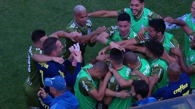 Os gols de Palmeiras 2 x 1 Ceará pela 30ª rodada do Campeonato Brasileiro