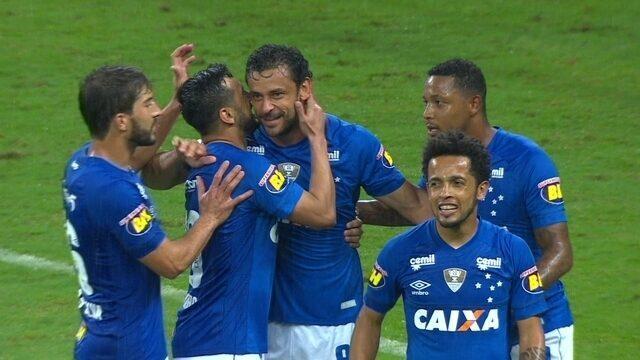 Os gols de Cruzeiro 3 x 0 Vitória pela 36ª rodada do Brasileirão