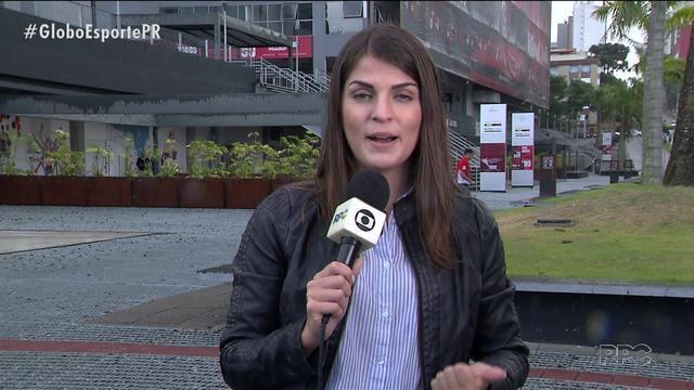 Atlético já treina em Curitiba pra final da Sul-Americana