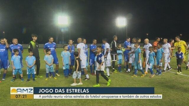 Jogo das Estrelas reúne craques nacionais e atletas amapaenses em clima de festa