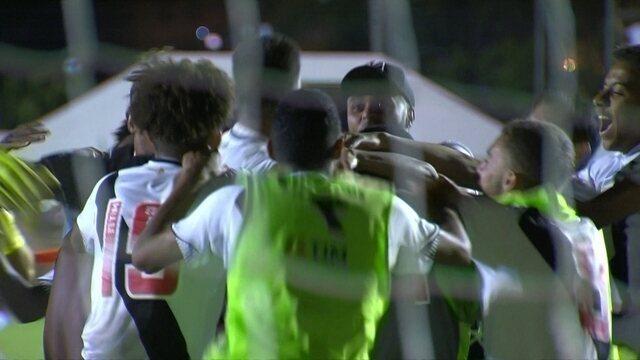 Os gols de Grêmio 2 (1) x (3) 2 Vasco pelas quartas da Copa RS de Futebol Sub-20