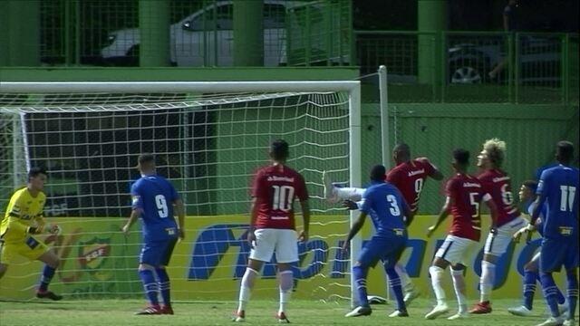 Melhores momentos: Internacional 1 x 0 Cruzeiro pelas quartas da Copa RS de Futebol Sub-20