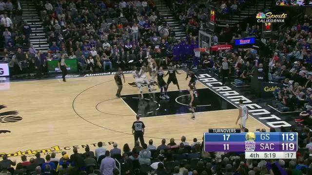 Melhores momentos: Golden State Warriors 130 x 125 Sacramento Kings pela NBA