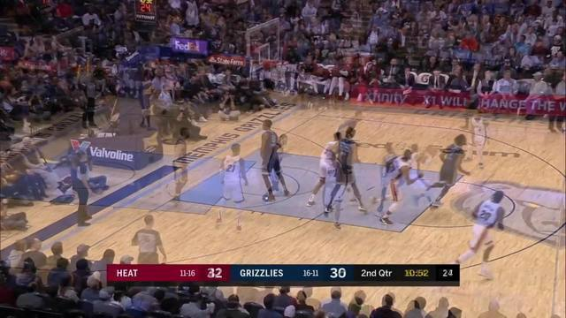 Melhores momentos: Miami Heat 100 x 97 Memphis Grizzlies pela NBA