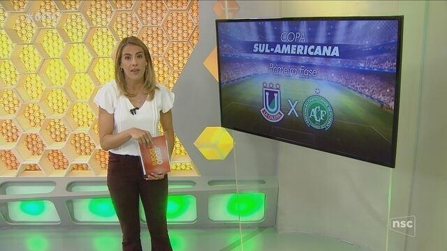 Sorteio define adversário da Chape na Sulamericana