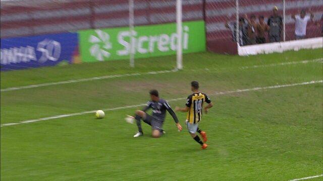 Os gols de Volta Redonda 2 x 0 Atlético-MG pela Copa São Paulo de Futebol Júnior