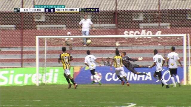 Os melhores momentos de Volta Redonda 2 x 0 Atlético-MG pela Copa São Paulo de Futebol Júnior
