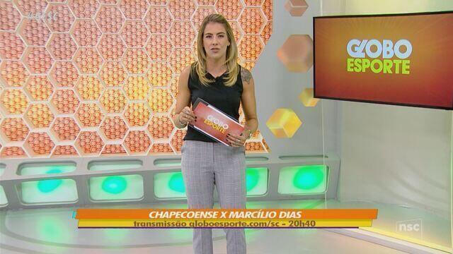 GloboEsporte.com transmite Chape x Marcílio na primeira rodada do Catarinense