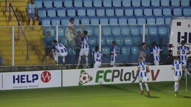 Jones Carioca ajeita, e Getúlio marca para o Avaí