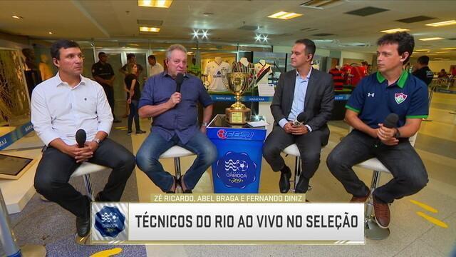 Treinadores debatem favoritismo do Flamengo no Campeonato Carioca