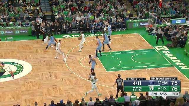 Melhores momentos: Boston Celtics 122 x 116 Memphis Grizzlies