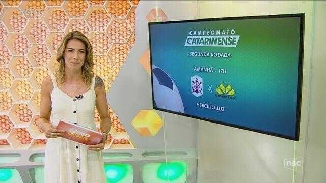 Confira os próximos jogos do Campeonato Catarinense