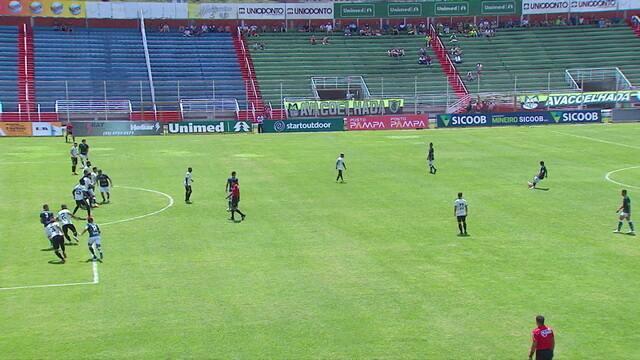 Os gols de Caldense 1 x 1 América-MG pelo Mineiro 2019