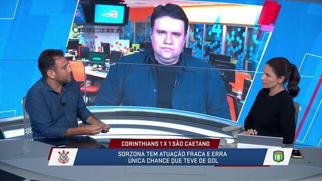 Comentaristas analisaram Sornoza e Jadson jogando juntos e projetaram uma futura disputa entre eles