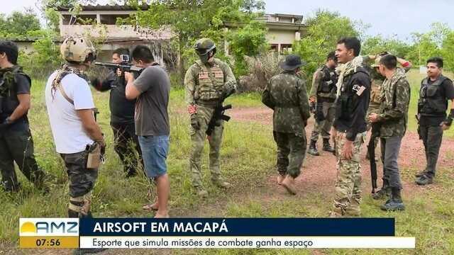 Esporte que simula missões de combate ganha espaço em Macapá