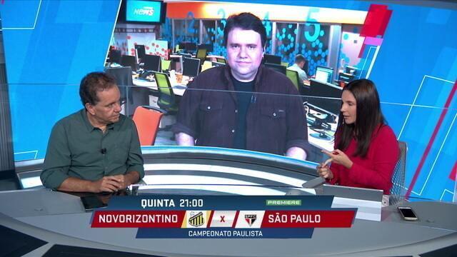 Comentaristas levantam hipótese de Diego Souza, Pablo, Hernanes e Nenê atuarem juntos no São Paulo