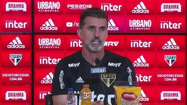 Confira a íntegra da entrevista coletiva de Vagner Mancini no São Paulo