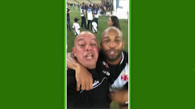 Junto com torcedor, Felipe Bastos provoca Fluminense com xingamentos