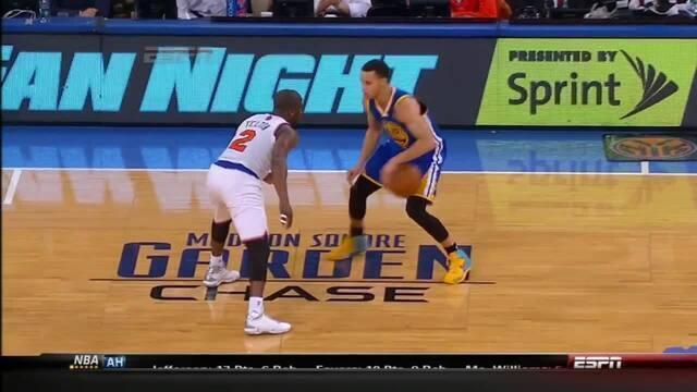 Stephen Curry explode com 54 pontos no Madison Square Garden contra os Knicks, em 2013