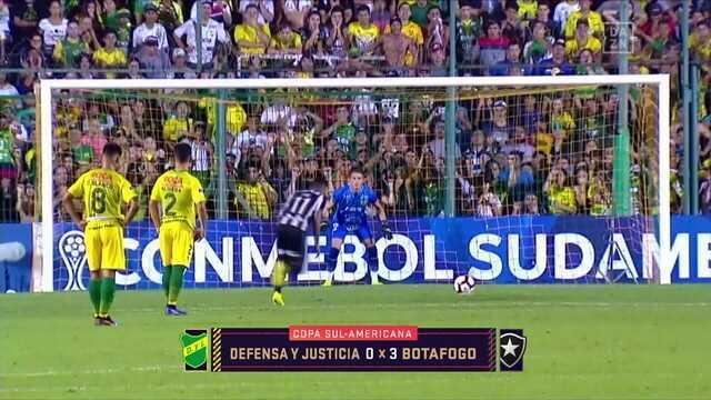 Comentaristas falam sobre a vitória do Botafogo em cima do Defensa y Justicia