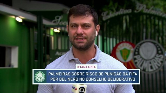 Palmeiras pode ser punido pela Fifa por Del Nero no Conselho Deliberativo