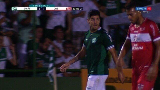 Que jogada!! Marcinho faz grande jogada, e Goiás quase vira aos 33' do 2º tempo
