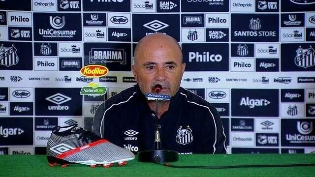 Palmeiras 0 x 0 Santos: veja a enntrevista coletiva de Sampaoli