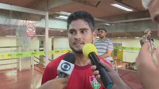 Léo diz que faltou experiência ao Independência na semifinal contra o Atlético-AC