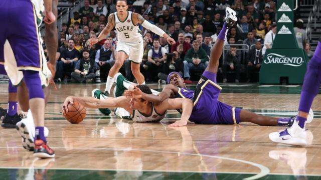 Melhores momentos: Los Angeles Lakers 101 x 115 Milwaukee Bucks pela NBA