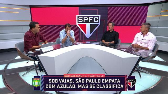Comentaristas analisam o momento do São Paulo