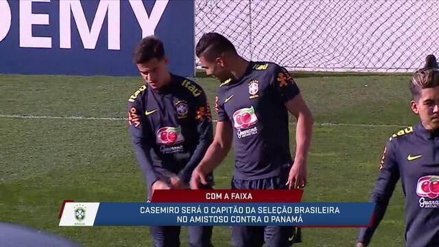 Mauro Naves traz as notícias da Seleção e diz que Casemiro será o capitão contra o Panamá