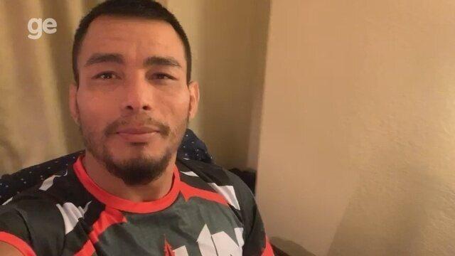 John Macapá pede apoio de amapaenses antes de luta no Bellator 218, nos EUA