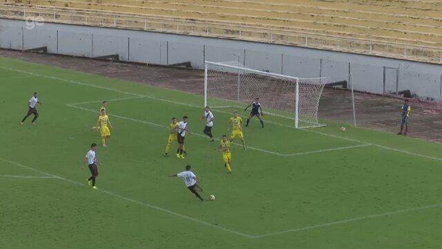 Veja o gol que deu a vitória ao Vasco-AC sobre o Náuas na abertura do 2º turno do Acreano