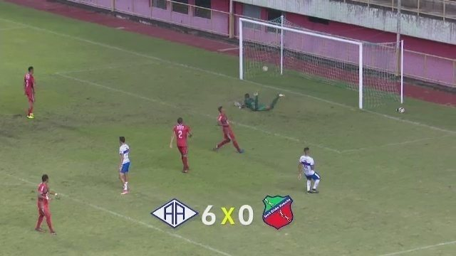Atlético-AC goleia Humaitá na abertura do grupo A no 2º turno do Acreano