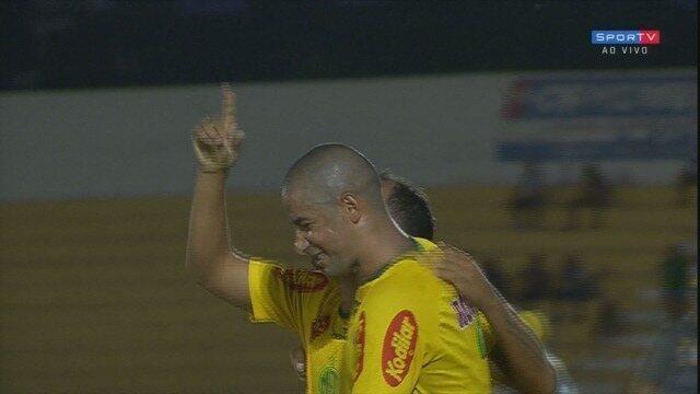 Os gols de Mirassol 2x0 Guarani, pela primeira fase do Troféu do Interior