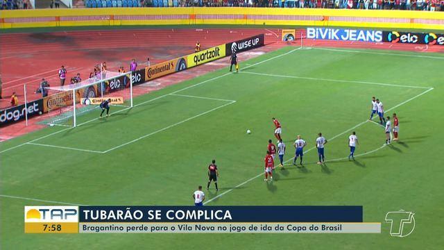 Bragantino perde para o Vila Nova e se complica na Copa do Brasil