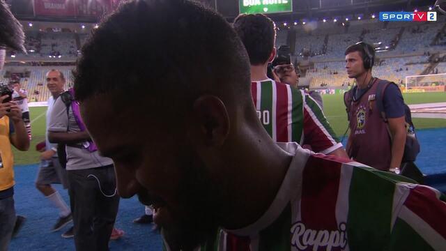 Everaldo comenta declaração do pai, que revelou que ele já está acertado com o Corinthians